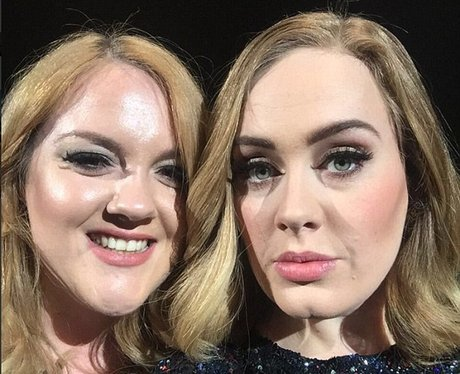 Adele and her doppelgänger