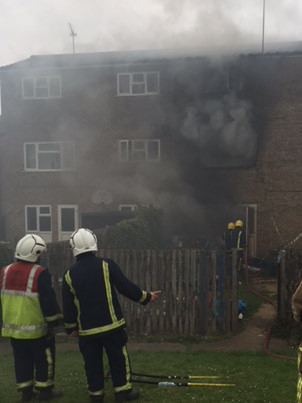 Bretton house fire