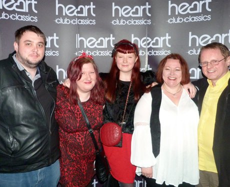 Martin Day and the Heart Angels headed on down to