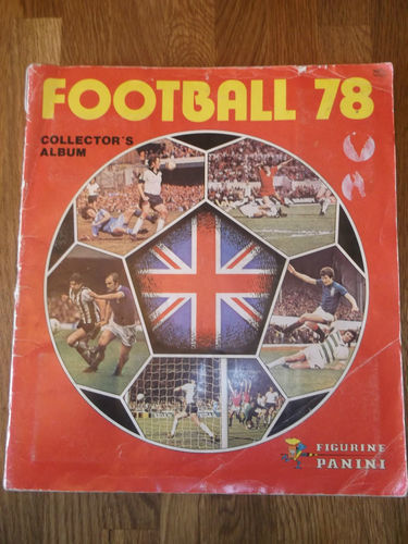 Figurine Panini Sticker album
