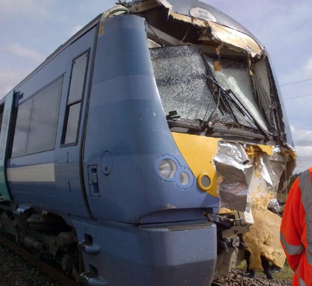 Roudham Train Crash 2