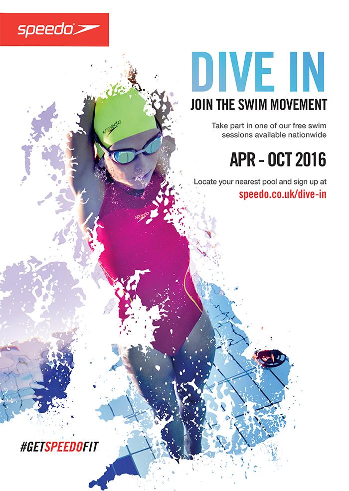 Speedo Dive In Posters