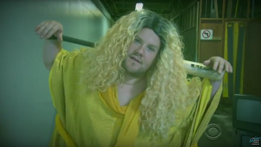 James Corden Beyonce lemonade spoof