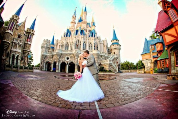 Disney Florida wedding