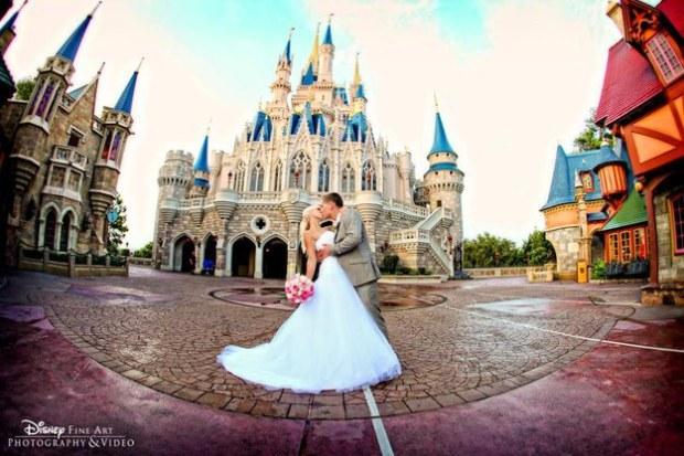 Disney Florida wedding