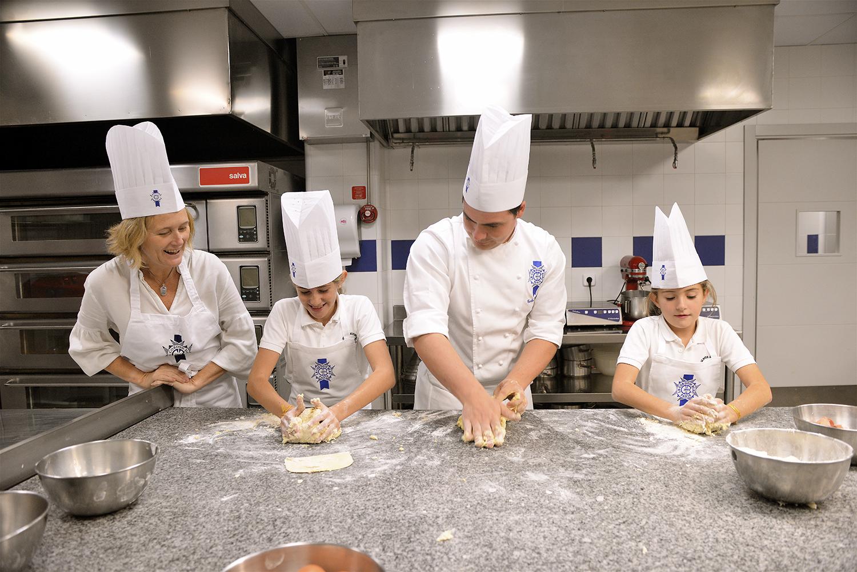 Kids cooking class Le Cordon Bleu