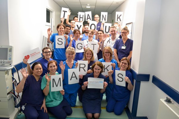 Papworth Hospital thank you
