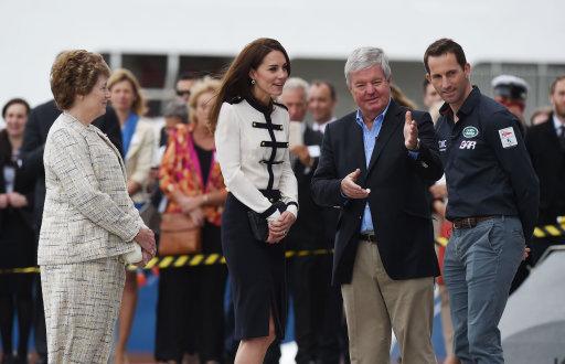 Duchess Of Cambridge In Portsmouth