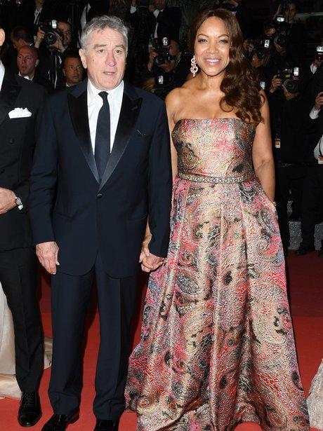 Robert de Niro and his wife Grace Hightower