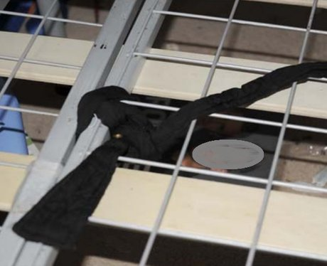 Rope tie on bed in Liam Fee trial