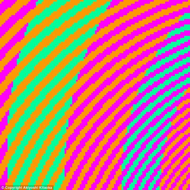 Akiyoshi Kitaoka illusion