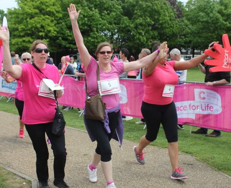 Heart Angels: Gillingham Race For Life (22nd May 2