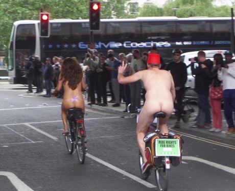 Naked Bike Ride 7