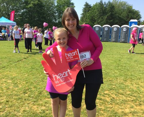 Heart Angels at Horsham Race For Life