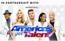 Sponsor strip America's Got Talent