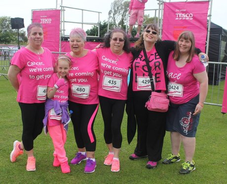 Heart Angels: Folkestone Race For Life (12th June