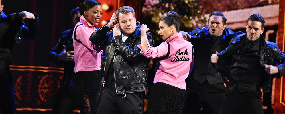James Corden Grease Tony Awards 2016