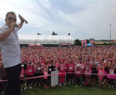 Heart Angels at Eastbourne Race For Life