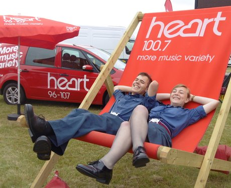 RAF Cosford Giant Deck Chair