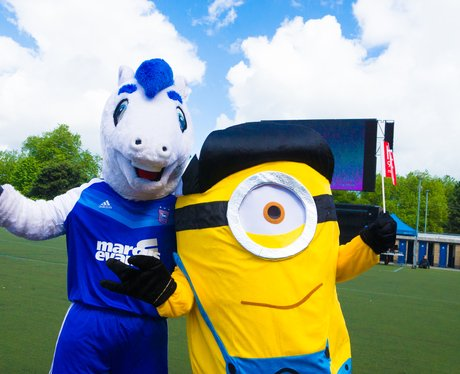 Minions Movie at Ipswich Town FC