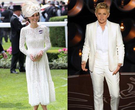 Ellen DeGeneres and Duchess Of Cambridge