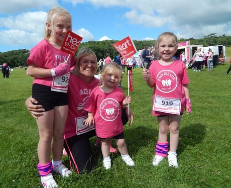 Heart Angels at Brighton Race For Life