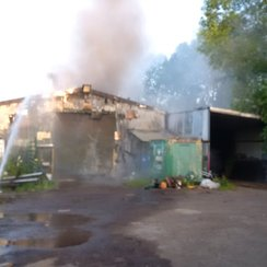 oxford barn fire