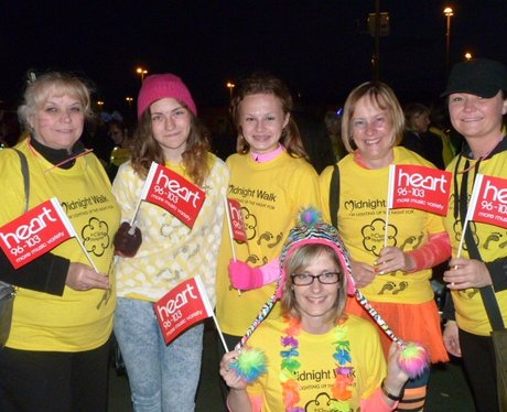 St Clare Hospice Midnight Walk 2016