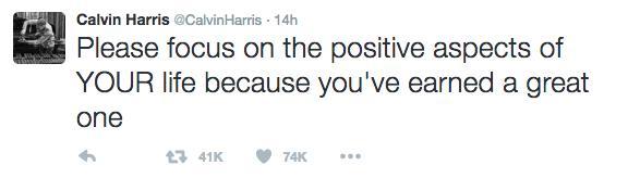 Calvin Harris Taylor Swift twitter rant
