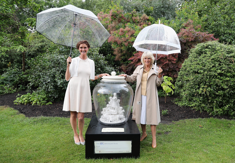 Duchess of Cornwall reveals her BFG dream jar