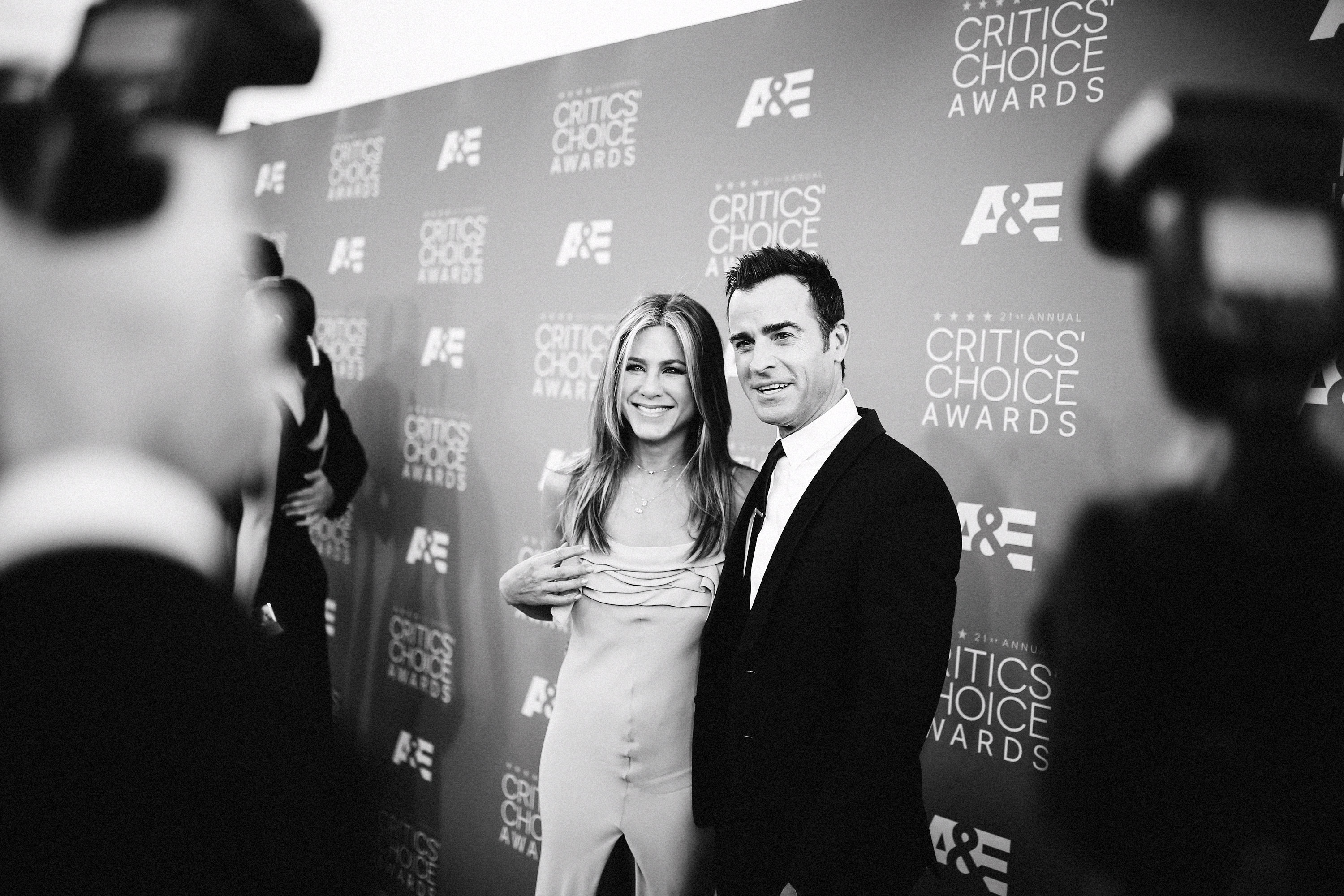 Jennifer Aniston and husband Justin Theroux
