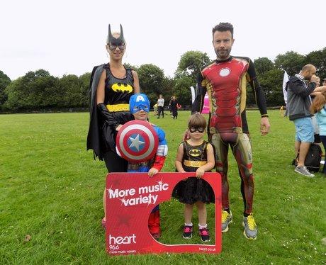 Rennie Grove 10K and 1.5K Superhero Fun Run- Befor