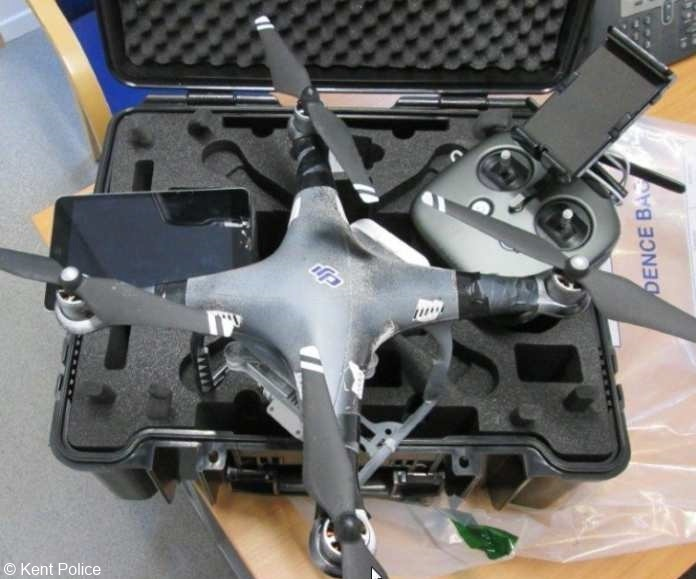 Illegally Used Prison Drone