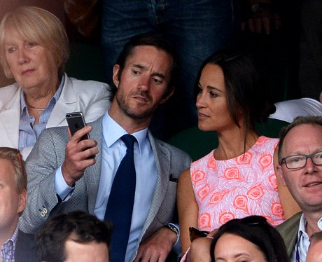 James Matthew's and Pippa Middleton at Wimbledon
