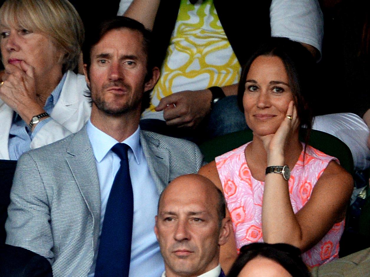 James Matthews Pippa Middleton Wimbledon