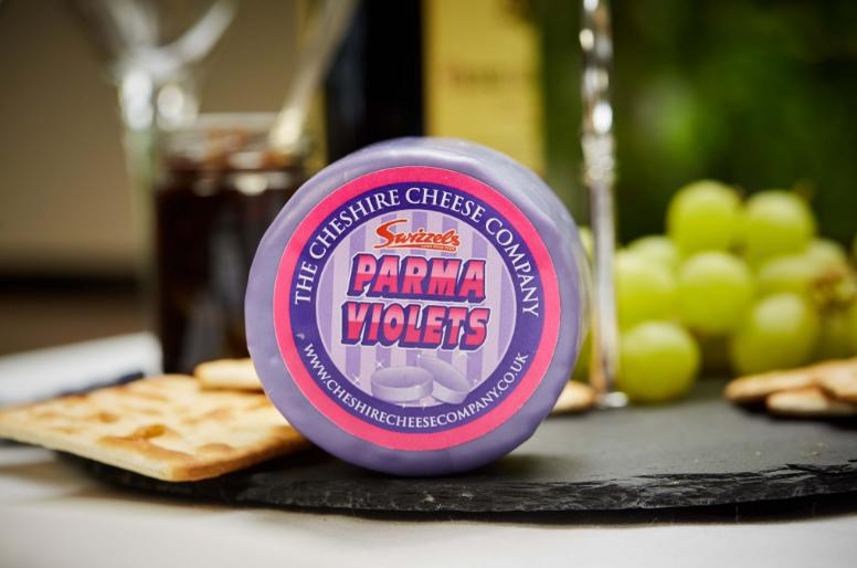 Parma Violets Cheese