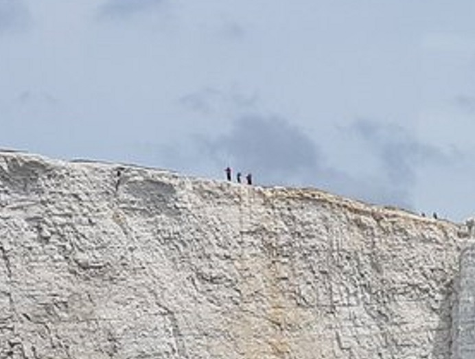 beachy head walkers zoom