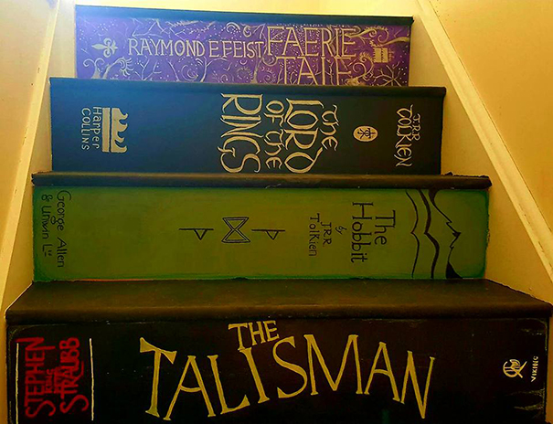 Bookcase stairs Philippa Branham