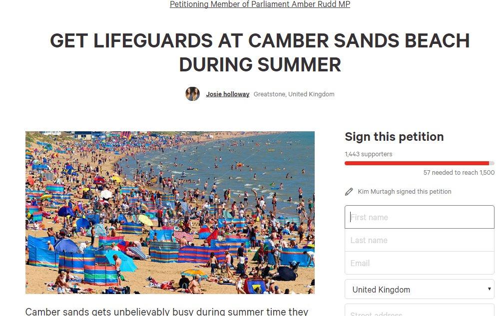 camber lifeguard petition new