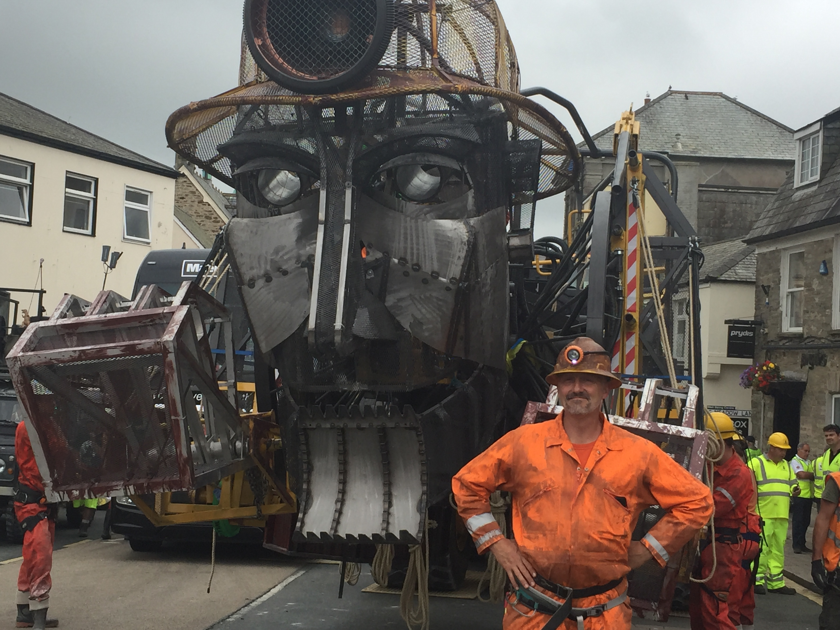 Will with man engine