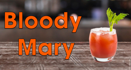 Bloody Mary Heart Cocktails