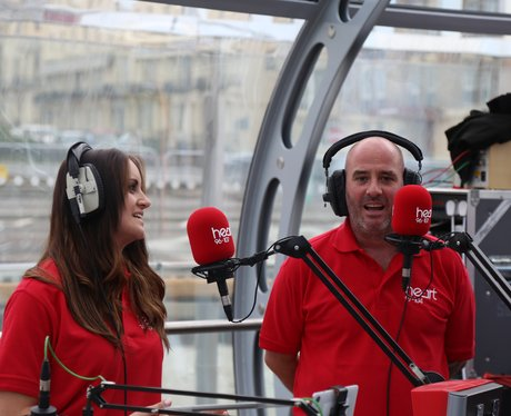 Heart Breakfast LIVE from the British Airways i360