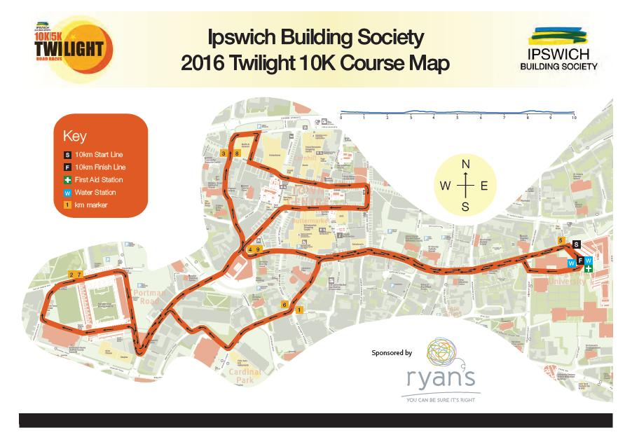 ipswich twilight 2016 route map