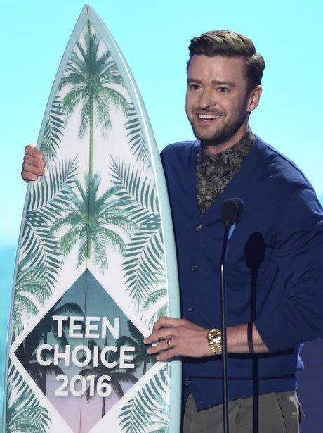 Justin Timberlake Teen Choice Award 2016