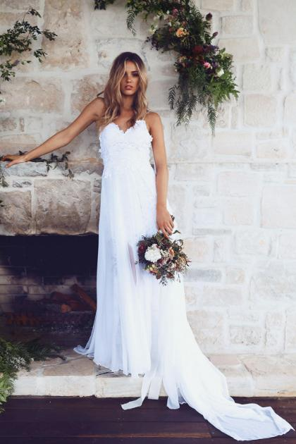 most pinned bride dress ever