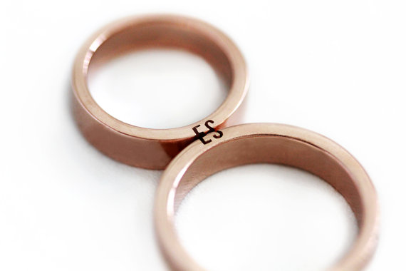 cute etsy wedding bands