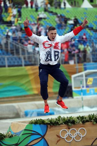 Joe Clarke Gold Medallist Rio