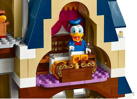 donald duck new lego disney castle