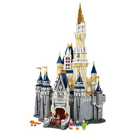 new disney lego castle