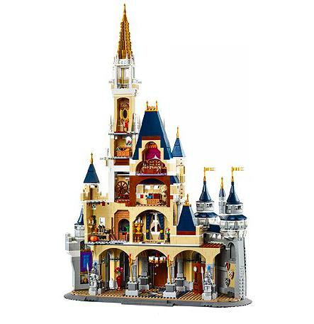new lego disney castle